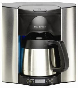 Brew Express10 Cup Stainless Steel Coffee Machine